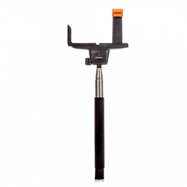 Príslušenstvo k outdoor kamerám MadMan Selfie tyč DELUXE BT 100 čierna