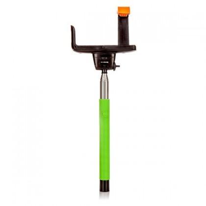 Príslušenstvo k outdoor kamerám MadMan Selfie tyč DELUXE BT 100 zelená