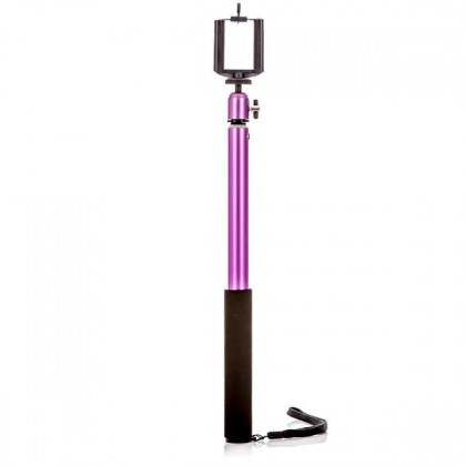Príslušenstvo k outdoor kamerám MadMan Selfie tyč PRO RC 112 cm fialová (monopod) ROZBALENÉ