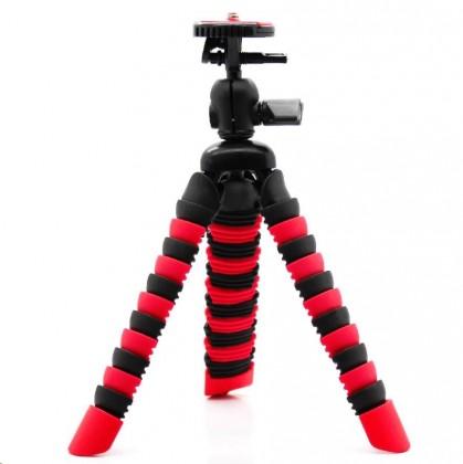Príslušenstvo k outdoor kamerám MadMan Statív chobotnice malý červený