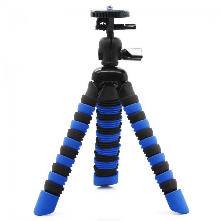 Príslušenstvo k outdoor kamerám MadMan Statív chobotnice malý modrý
