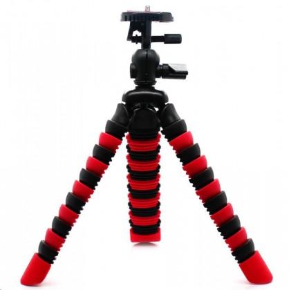 Príslušenstvo k outdoor kamerám MadMan Stativ chobotnice střední červený
