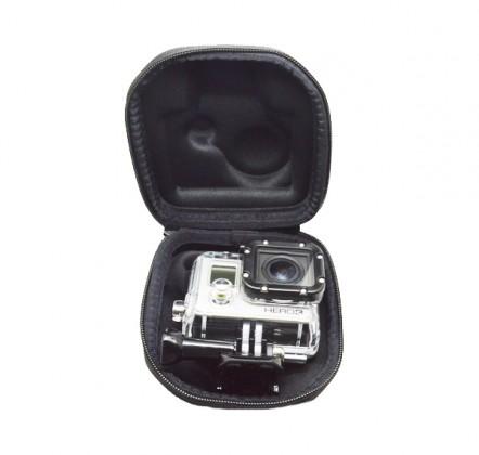 Príslušenstvo k outdoor kamerám Malé pouzdro pro kamery GoPro# - černé / bílé
