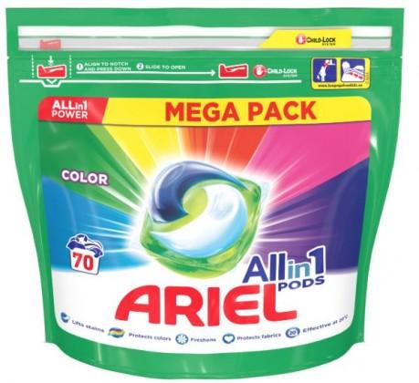 Príslušenstvo k práčkam Gélové kapsuly Ariel A000013391, colour, 70ks