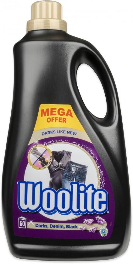 Príslušenstvo k práčkam Prací gél Woolite A000012308, Black, 3,6 l