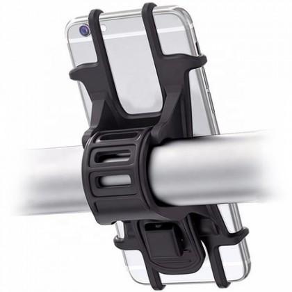 Príslušenstvo pre elektromobilitu Držiak telefónu Bluetouch pre elektrokolobežky, čierna