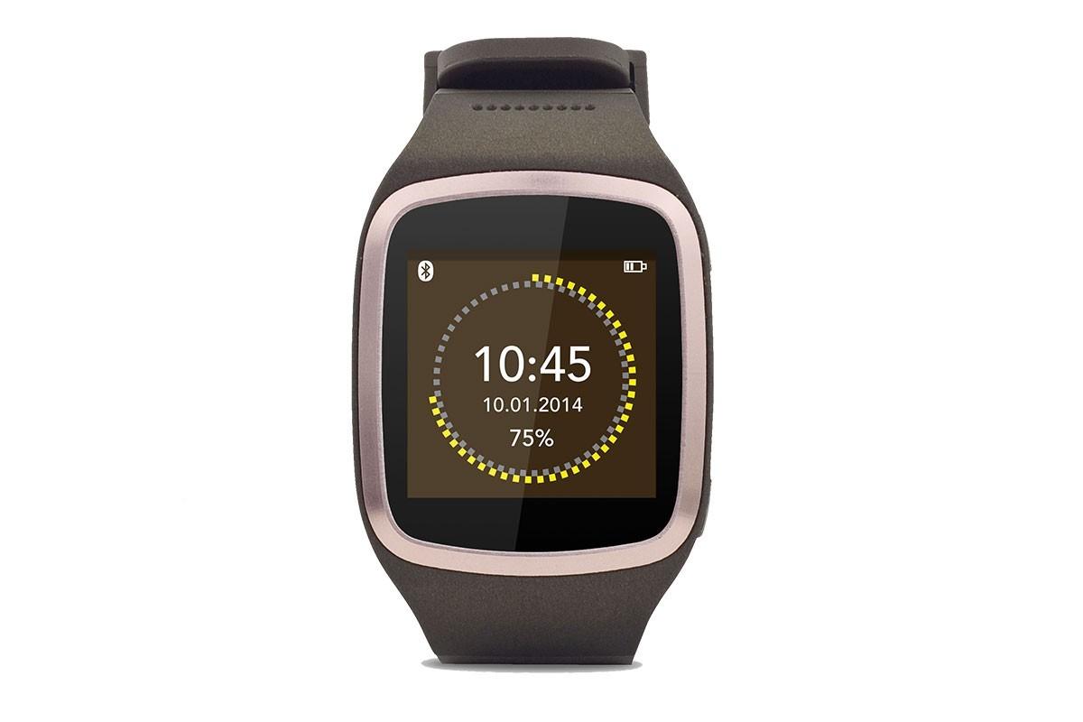 Príslušenstvo pre GPS MYKRONOZ ZESPLASH chytré hodinky - hnědé