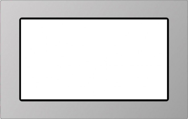 Príslušenstvo pre mikrovlnné rúry Rámeček pro vestavění MOB 20231 BG