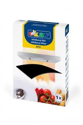 Príslušenstvo pre odsávače pár UNI uhlíková filter pro odsávače K&M KP01,1x