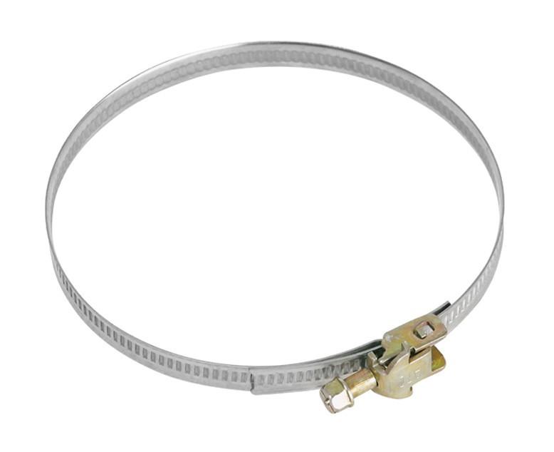 Príslušenstvo pre odsávače pár Upínacie kovová páska so sponou Mora MV110, 110 mm