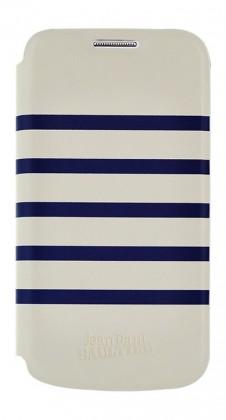 Príslušenstvo pre S6 Bigben flipové puzdro pre Galaxy S6, biela/modrá