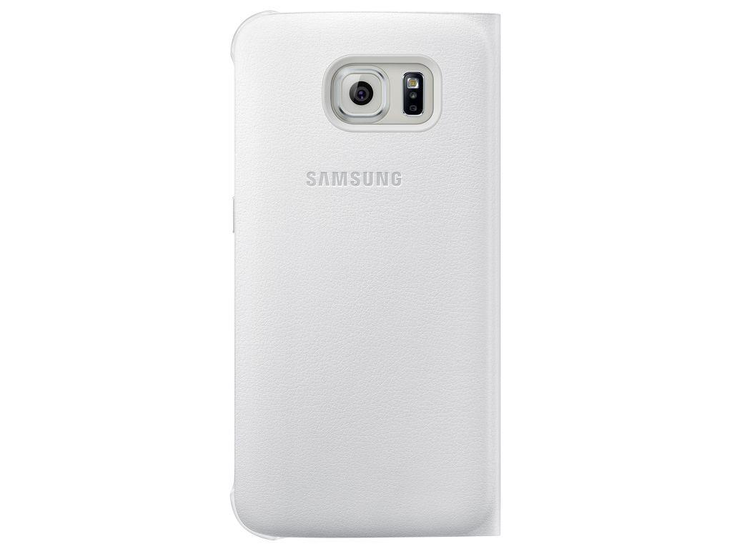 Príslušenstvo pre S6 Samsung puzdro pre Galaxy S6 Edge, biele