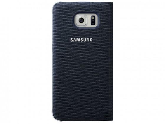 Príslušenstvo pre S6 Samsung textilné puzdro pre Galaxy S6, čierne