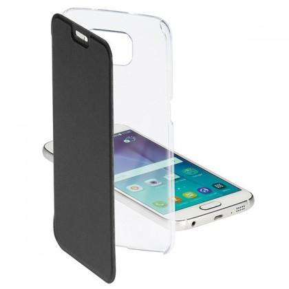 Príslušenstvo pre S6 Vivanco flip puzdro pre Samsung Galaxy S6, čierna