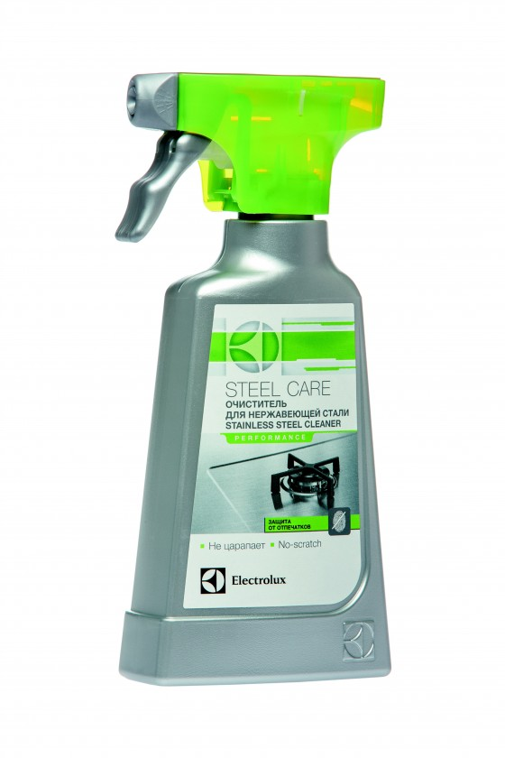 Príslušenstvo pre sporáky Čistič nerezových povrchov spotrebičov 250ml Electrolux E6SCS106
