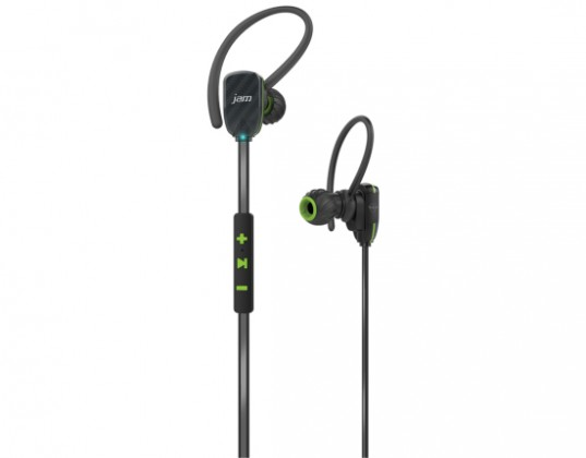 Príslušenstvo pre šport Jam Audio Transit Micro Sports Buds Green HX-EP510GR