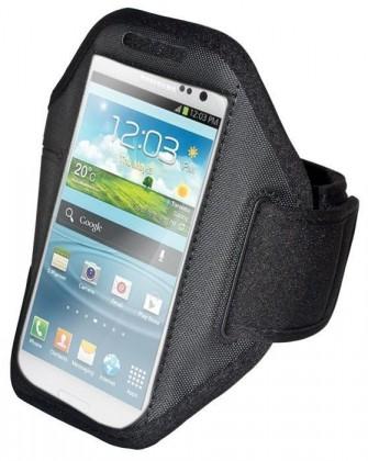 Príslušenstvo pre šport OEM športové puzdro na ruku pre Samsung Galaxy S3 / S4, čierna