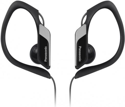 Príslušenstvo pre šport Panasonic RP-HS34E-K, čierne sivé