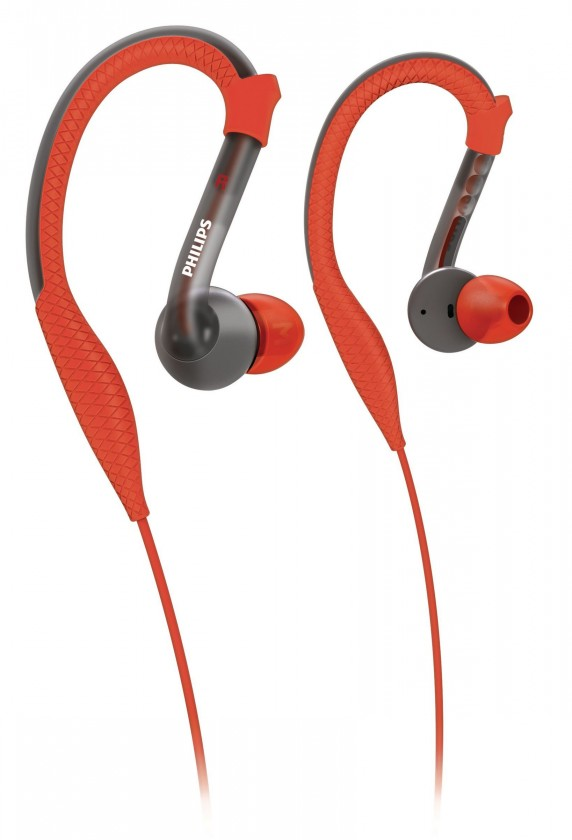 Príslušenstvo pre šport  Sportovní sluchátka červená SHQ3200/10