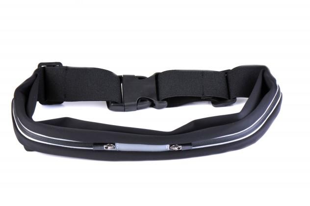 Príslušenstvo pre šport Winner group running belt, black