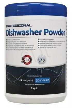 Príslušenstvo pre umývačky Čistiaci prostriedok pre umývačky 1 kg prášok C00092106 Indesit
