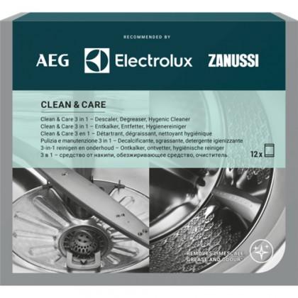 Príslušenstvo pre umývačky Starostlivosť o práčku a umývačku AEG Clean&Care M3GCP400, 3v1