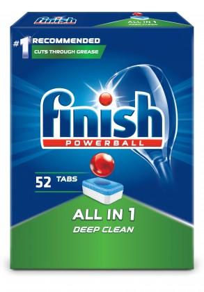 Príslušenstvo pre umývačky Tablety do umývačky Finish 3053523,All in 1