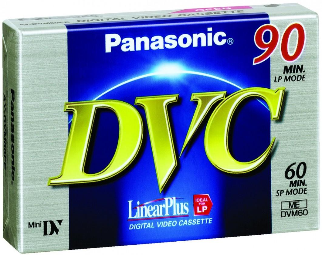 Príslušenstvo pre videokamery  Panasonic kazeta do kamery MiniDV60
