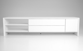 Profil - TV stolík, 5943-001 (biela)