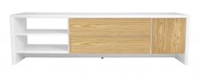 Profil - TV stolík, 5944-454 (biela/dub)
