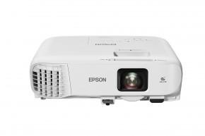 Projektor Epson EB-992F + ZADARMO Nástenné projekčné plátno v hodnote 59,-Eur