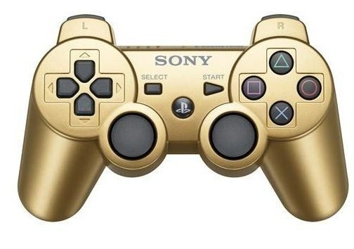 PS3 Dualshock Controller Gold Boxed