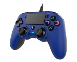 PS4 herný ovládač Nacon Compact Controller - Coloured Blue