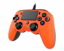PS4 herný ovládač Nacon Compact Controller - Coloured Orange