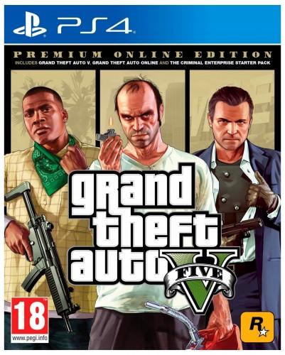PS4 hra - Grand Theft Auto V Premium Edition