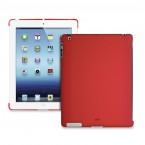Puro puzdro Cover iPad Back červené