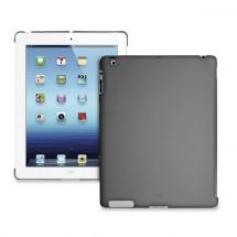 Puro puzdro Cover iPad Back tmavo šedé