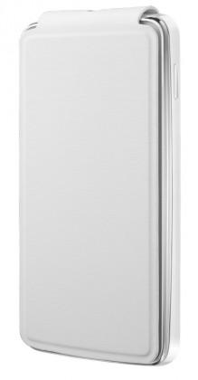 Puzdrá a kryty Alcatel flip puzdro pre Alcatel One Touch S'POP, biela ROZBALENÉ