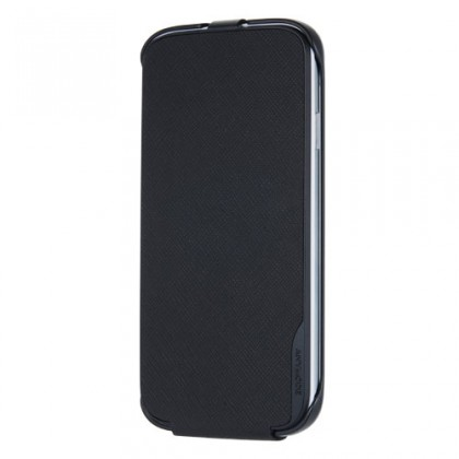 Puzdrá a kryty Anymode flip puzdro pre Samsung Galaxy S4, čierna