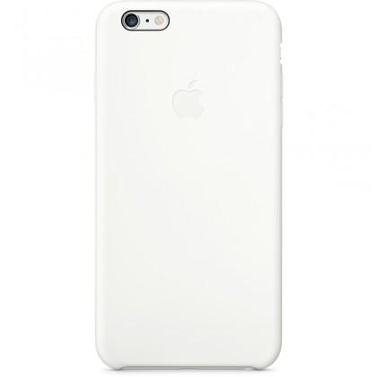 Puzdrá a kryty Apple gelskin pre Iphone 6 Plus, biela (silikón)