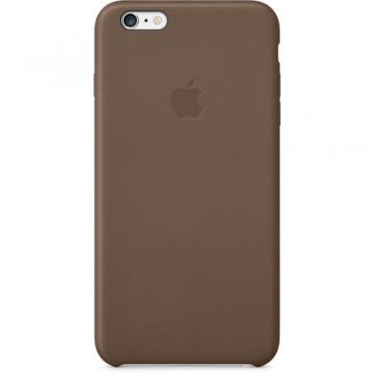Puzdrá a kryty Apple gelskin pre Iphone 6 Plus, hnedá (koža)