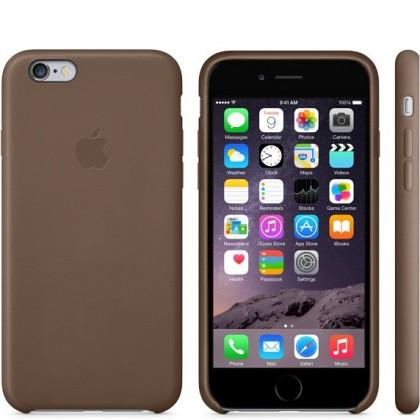 Puzdrá a kryty Apple gelskin pre Iphone 6 Plus, hnedá (koža) ROZBALENÉ