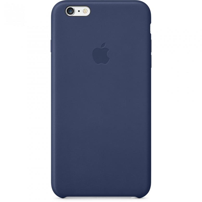 Puzdrá a kryty Apple gelskin pre Iphone 6 Plus, modrá (koža)