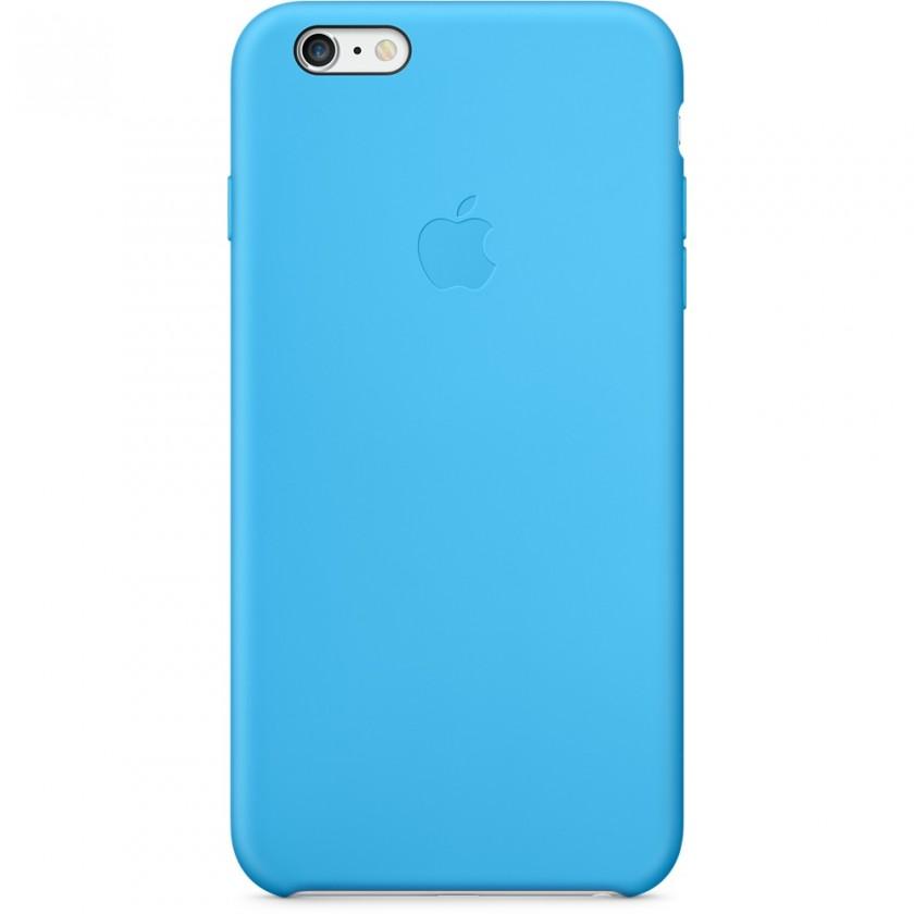 Puzdrá a kryty Apple gelskin pre Iphone 6 Plus, modrá (silikón)