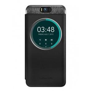 Puzdrá a kryty Asus flip puzdro pre ZenFone 2, čierna