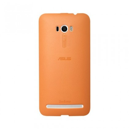 Puzdrá a kryty Asus gelskin pre ZenFone 2 Bumper Case Selfie, oranžová