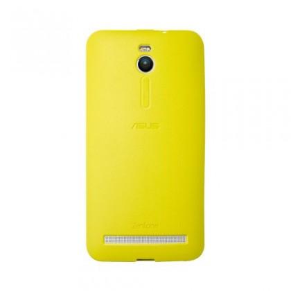 Puzdrá a kryty Asus gelskin pre ZenFone 2 ZE550ML / ZE551ML, žltá