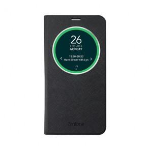Puzdrá a kryty Asus puzdro View Flip Cover Deluxe pre Asus ZenFone 2, čierna