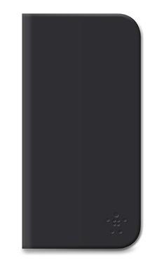 Puzdrá a kryty Belkin flip puzdro so stojanom pre iPhone 6 Plus, čierna