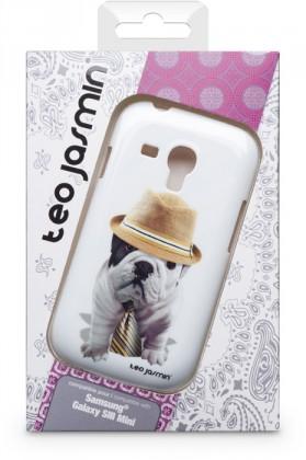 Puzdrá a kryty Bigben Kryt pre Samsung Galaxy SIII mini Teo Giorgio,biela